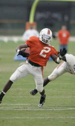 Miami Football Wraps Up Second Scrimmage of Fall Camp