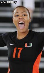 No. 20 Miami Volleyball to Play on ESPNU