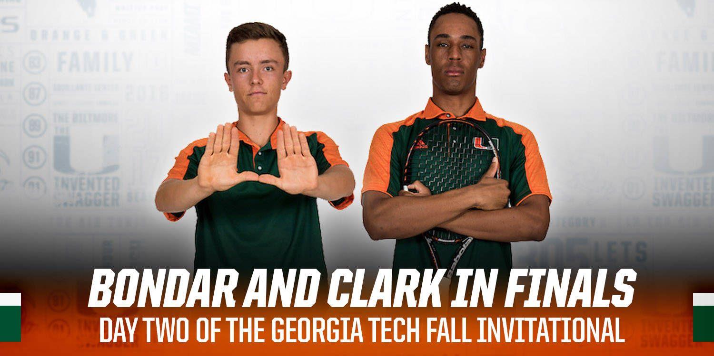 Bondar and Clark Advance to the Finals