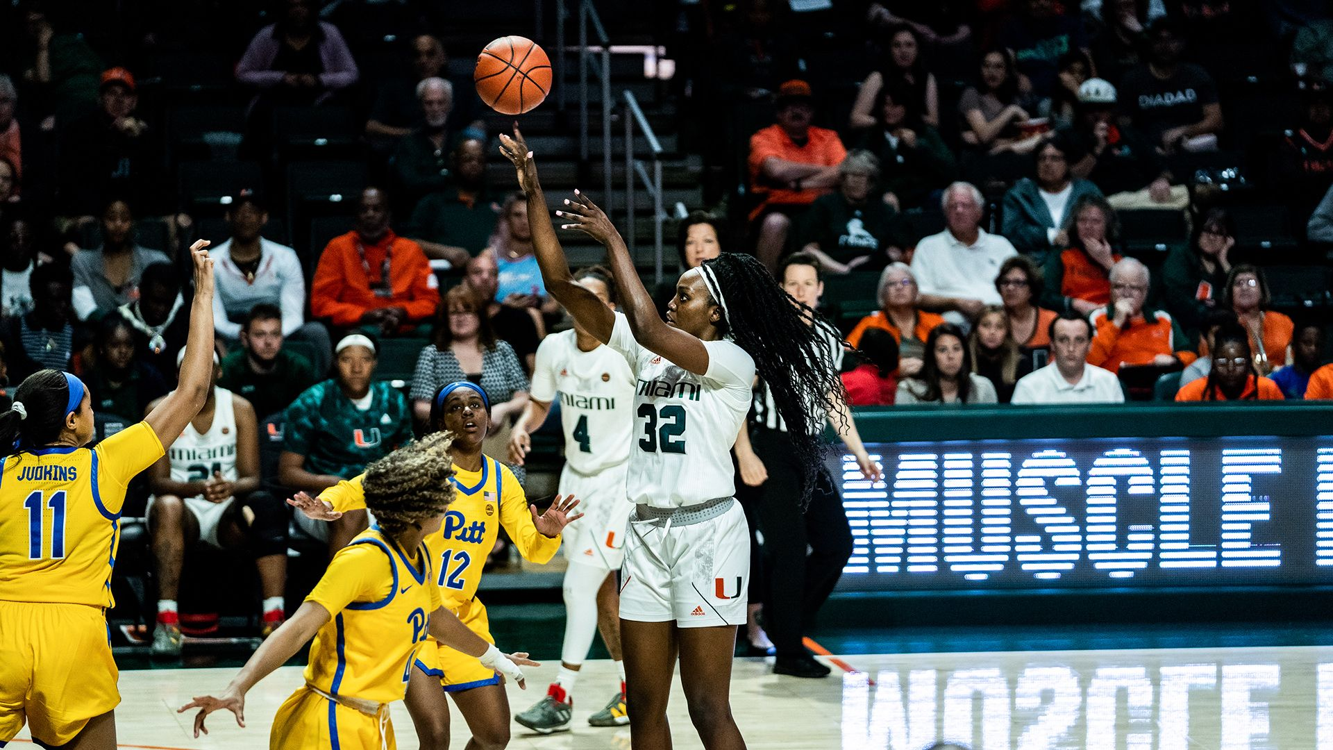Miami Bests Pittsburgh on Senior Day