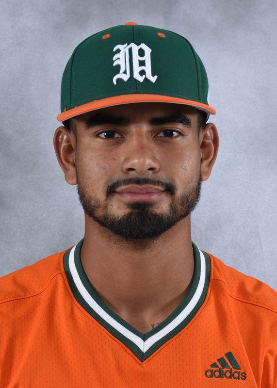 Freddy Zamora - Baseball - University of Miami Athletics