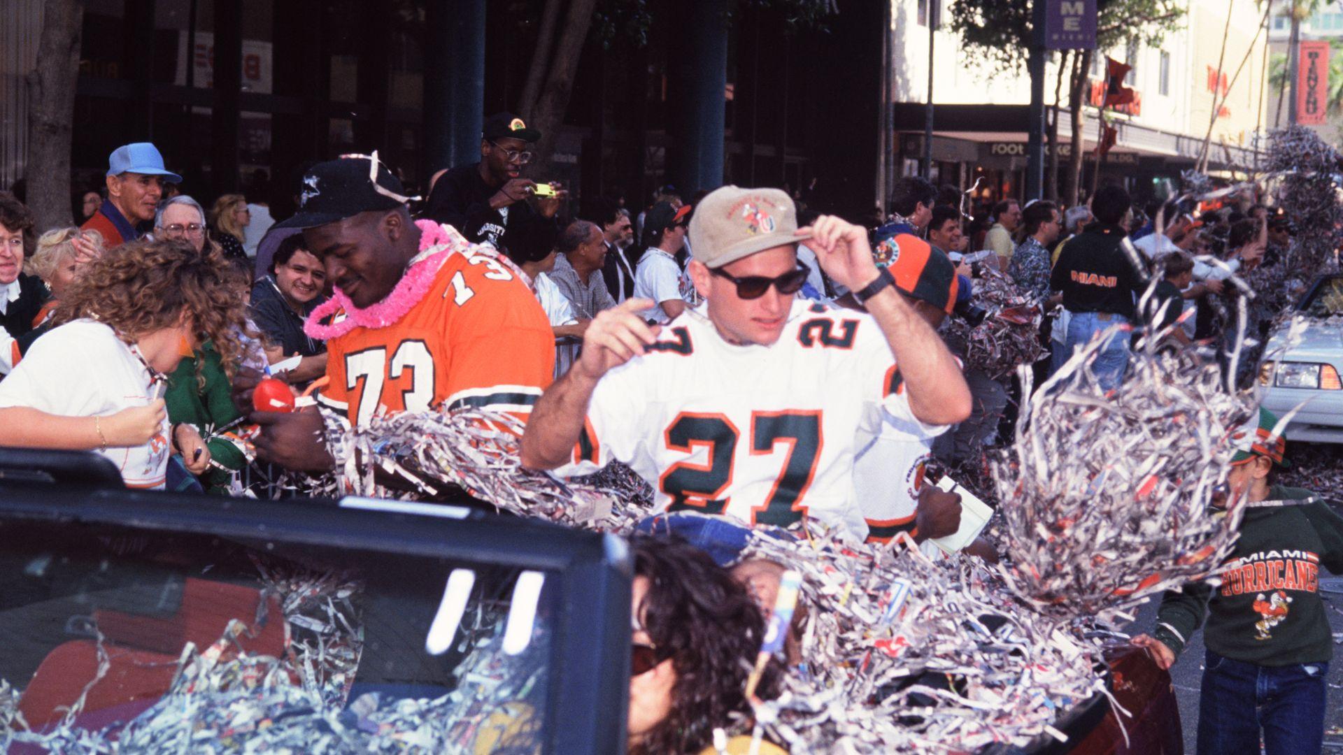 1991 National Championship Parade: Photo Gallery