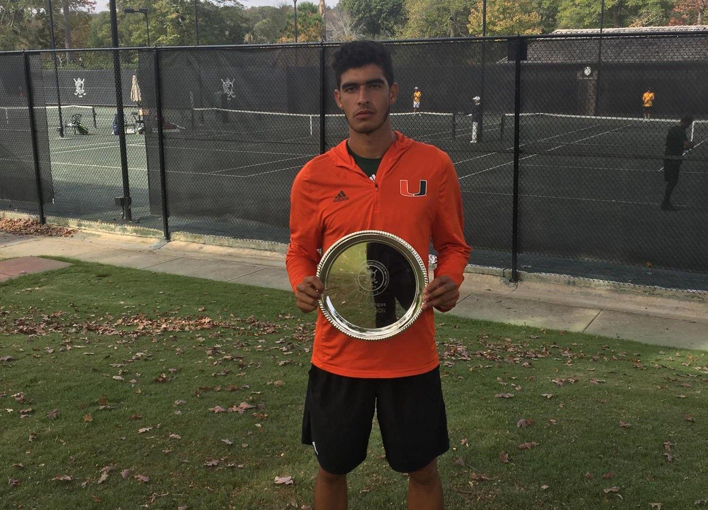 Soriano Wins CCB Collegiate Invitational Title