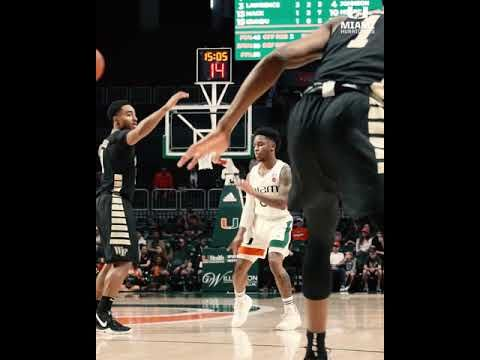 Canes Hoops vs. Wake Forest   Highlights   1.13.19