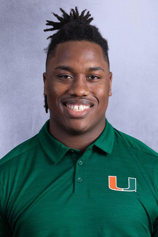 Zion Nelson - Football - University of Miami Athletics