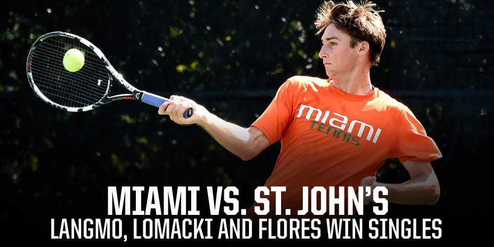 Canes Fall to St. John's in Season Opener