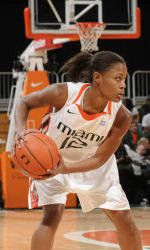 Williams Leads No. 13 Canes Over No. 5 Maryland, 75-63