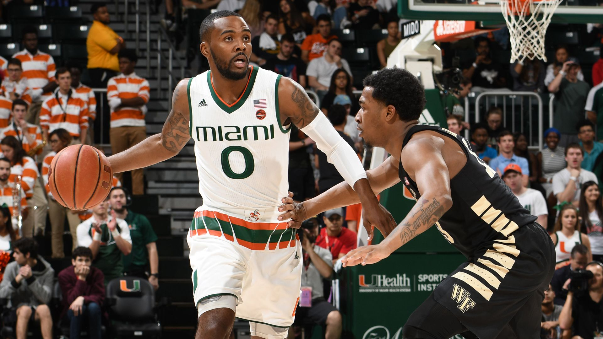Canes Shoot Past Wake Forest, 87-81