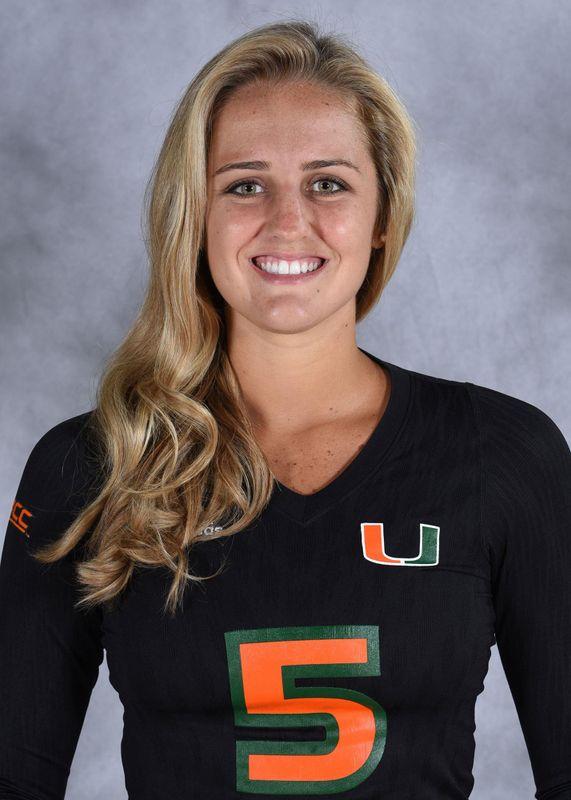 Haley Templeton - Volleyball - University of Miami Athletics