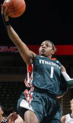 No. 12 Miami Opens ACC Play With 65-63 Loss To No. 25 UNC