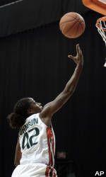 Williams' 36 Leads No. 9 Miami Past No. 11 Rutgers, 92-81