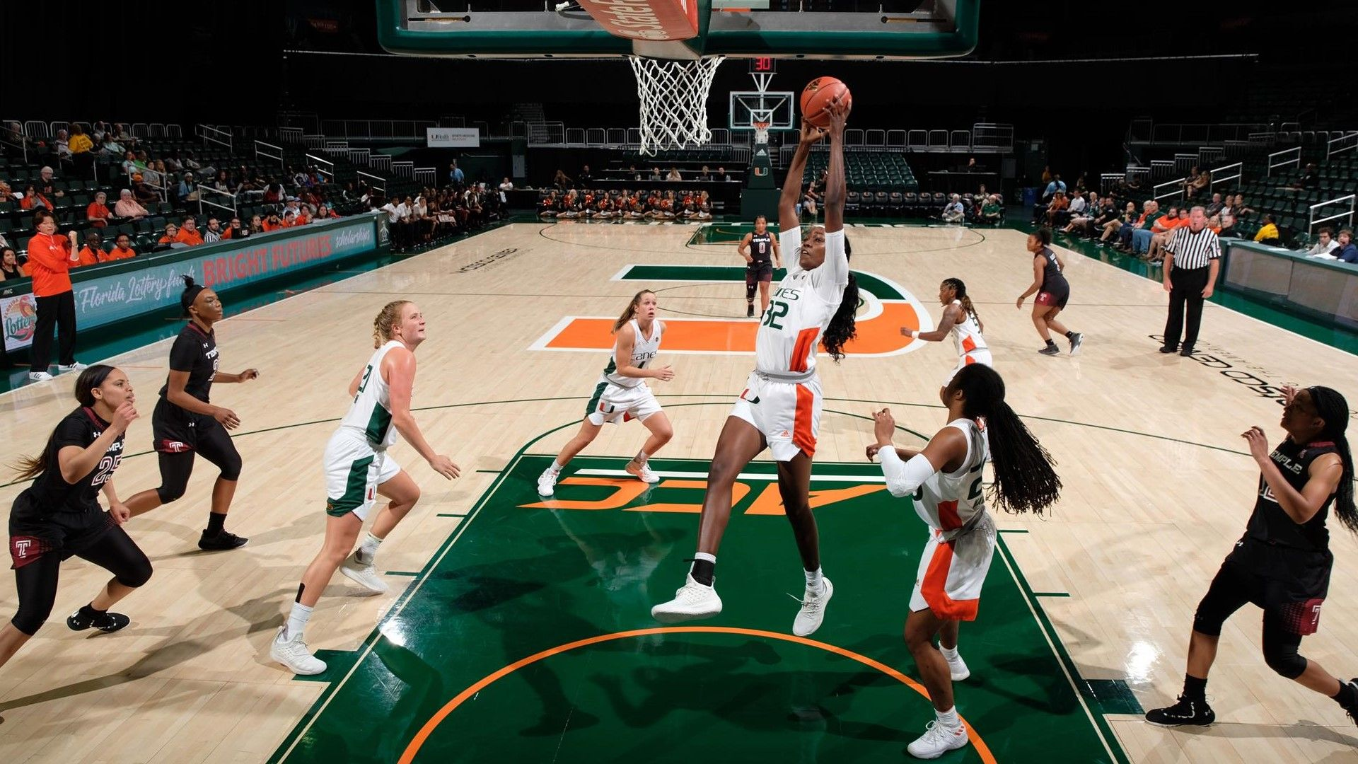 WBB Earns 73-61 Victory over Temple