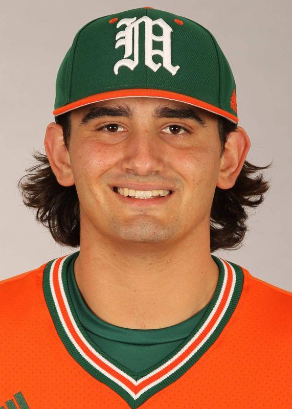 Peter Crocitto - Baseball - University of Miami Athletics