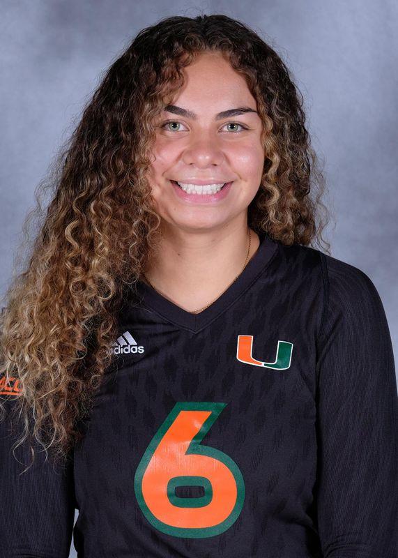 Janet Kalaniuvalu - Volleyball - University of Miami Athletics