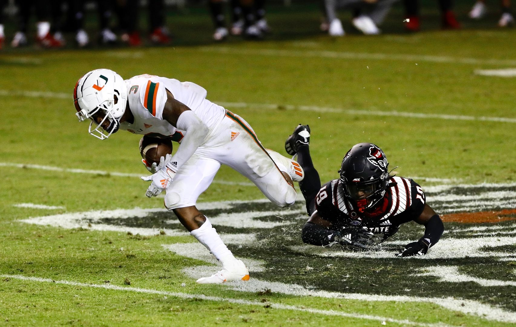 Photo Gallery: Canes Football at NC State