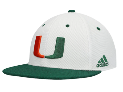 adidas Miami On-Field Baseball Fitted Hat