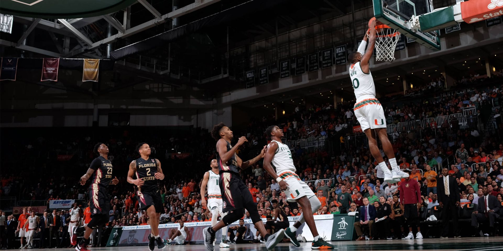 Canes Fall 75-57 to No. 15/16 Florida State