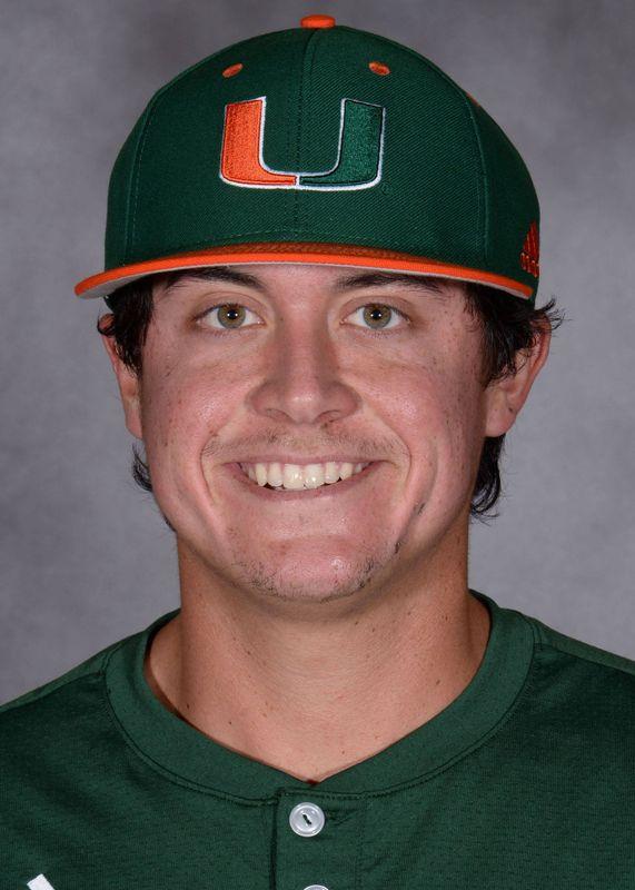 Evan McKendry - Baseball - University of Miami Athletics