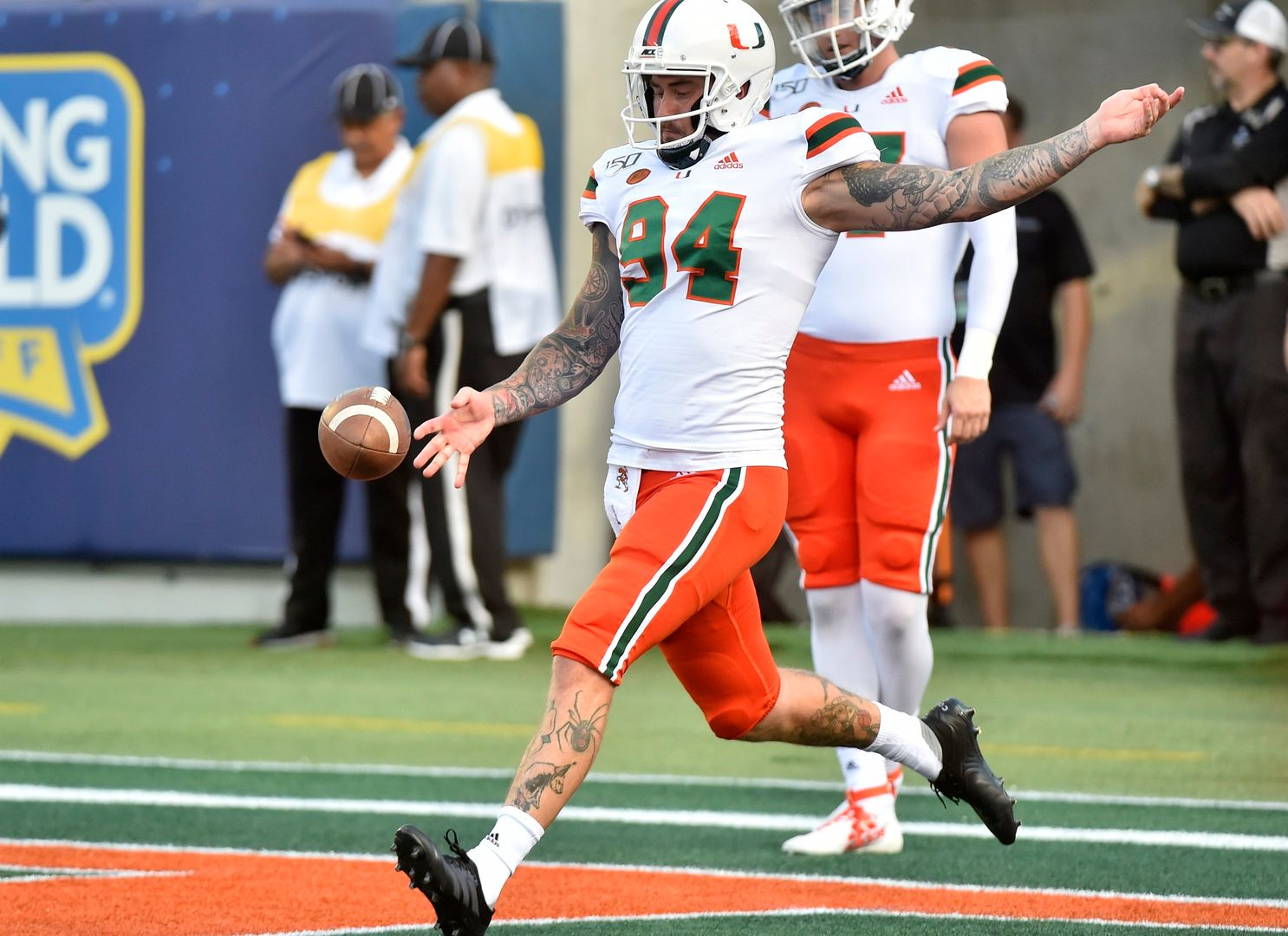 Hedley Selected to Ray Guy Watch List