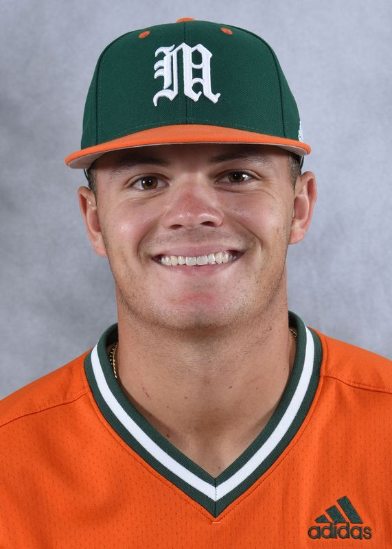 Tyler Paige - Baseball - University of Miami Athletics