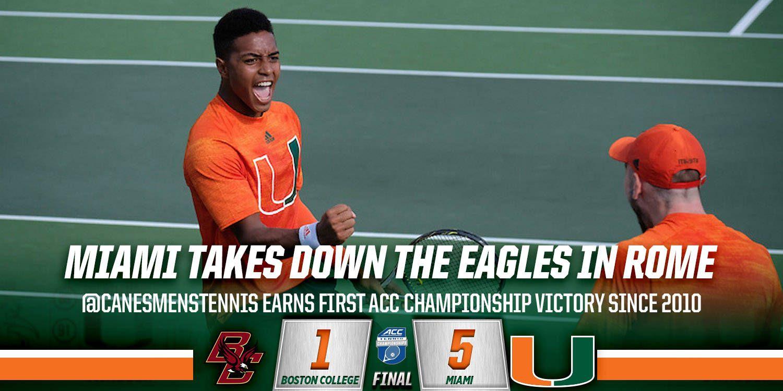 Miami Defeats Boston College