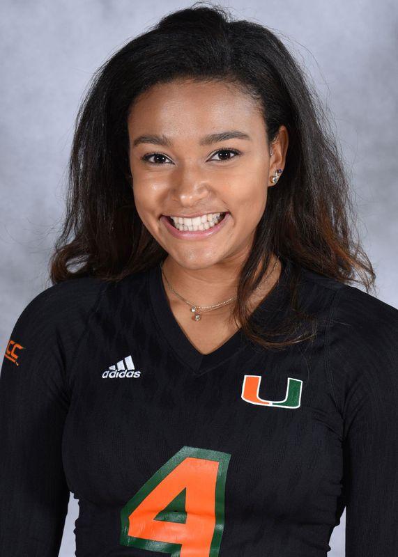 Chloe Brown - Volleyball - University of Miami Athletics
