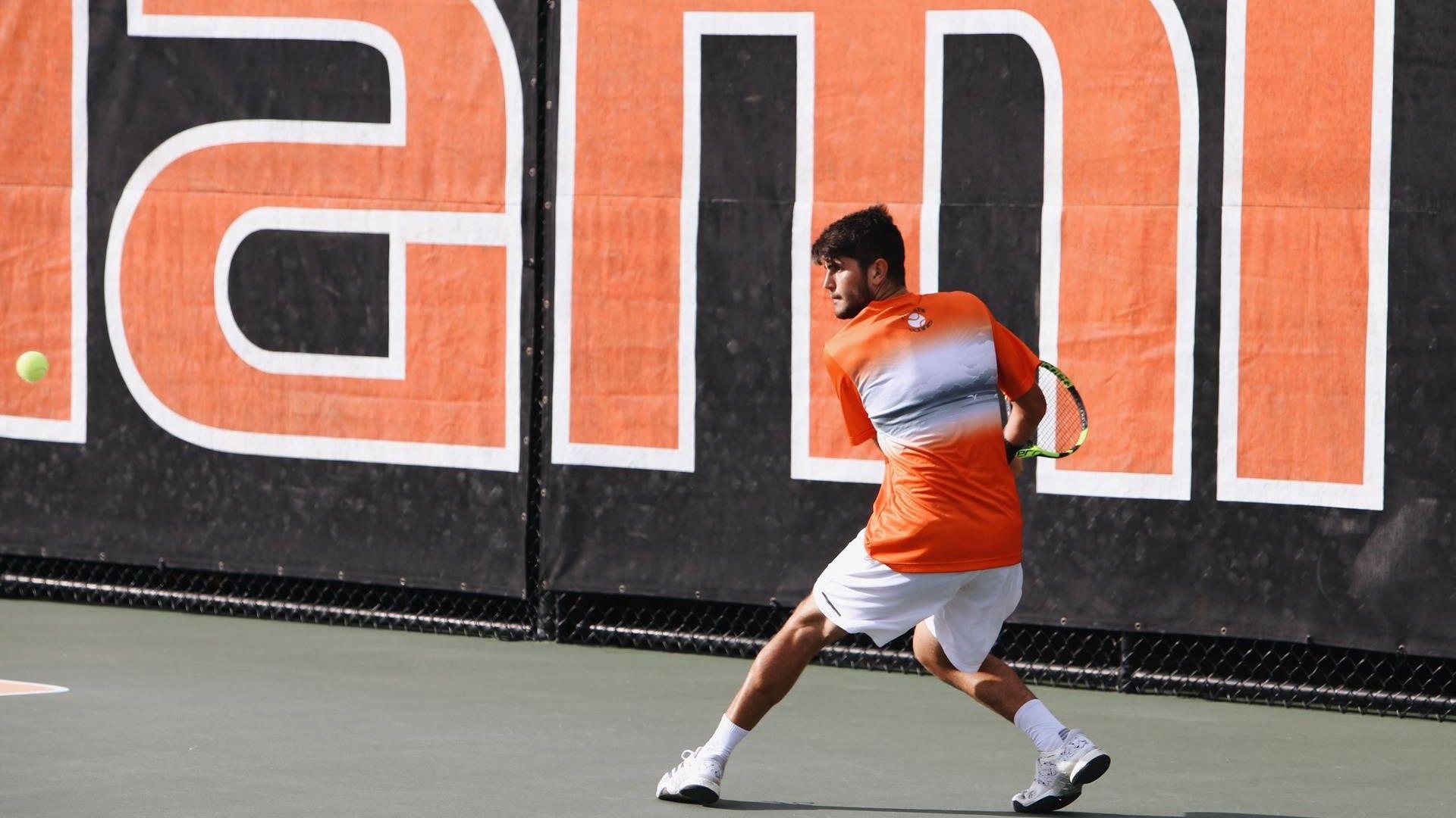 Men's Tennis Set to Open Miami Spring Invite