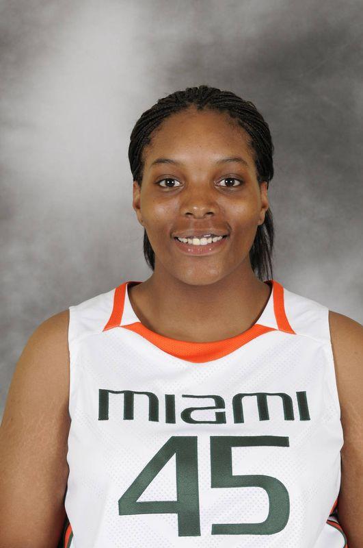 Rikiah Gatlin - Women's Basketball - University of Miami Athletics