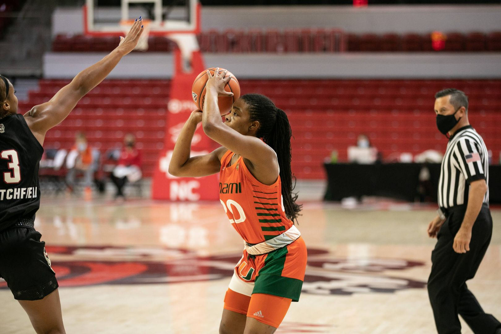 Canes Fall to Wolfpack on the Road