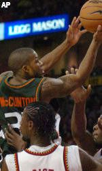 Cavs Upend Canes, 81-70