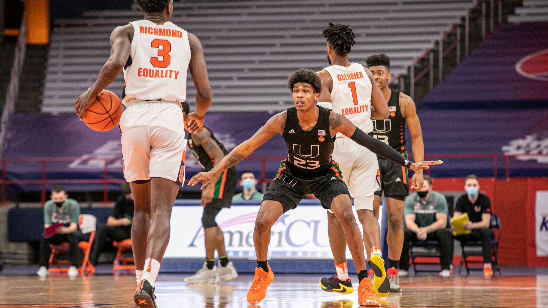 MBB Drops Road Decision at Syracuse