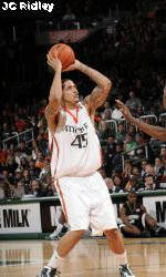Collins and Gamble Lead Hurricanes Past Virginia, 74-62