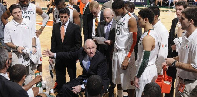 Kadji and Scott Lead the Canes Over Wake Forest 74-56