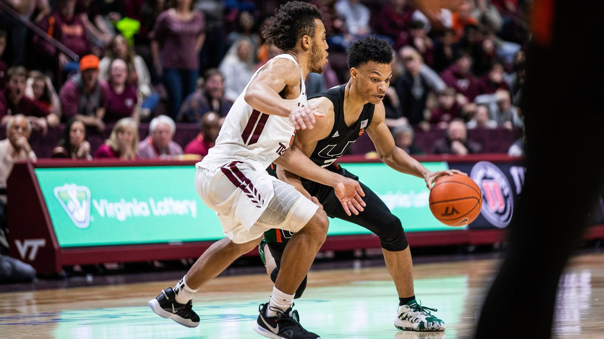 Wong Leads MBB to 102-95 3OT Win at Virginia Tech