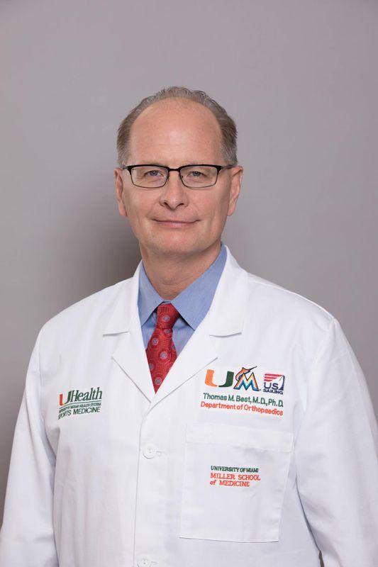 Dr. Thomas Best -  - University of Miami Athletics