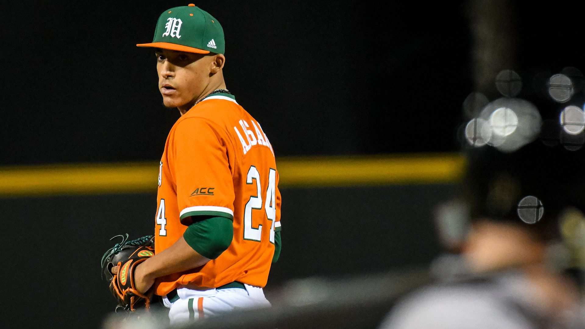 Rosario Named ACC Pitcher of the Week