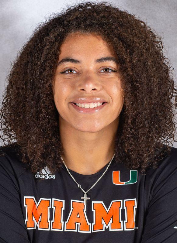 Nyah Anderson - Volleyball - University of Miami Athletics