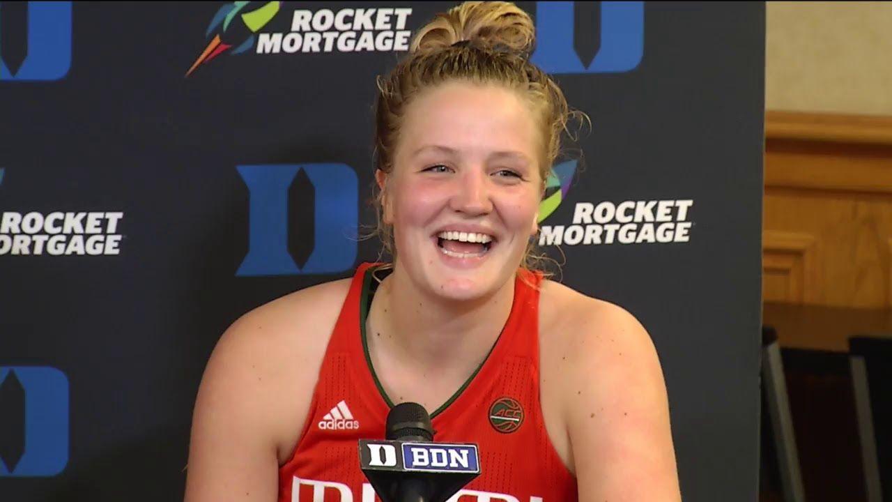 Katie Meier & Emese Hof | Postgame Presser vs. Duke | 1.17.19