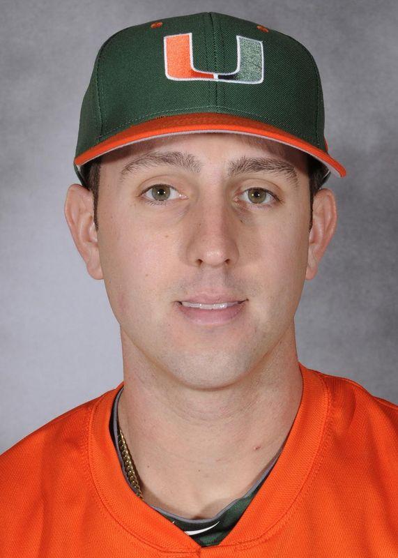 Vince Kossak - Baseball - University of Miami Athletics