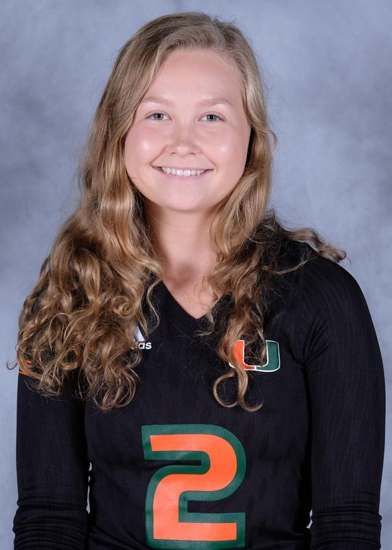 Amanda Falck - Volleyball - University of Miami Athletics
