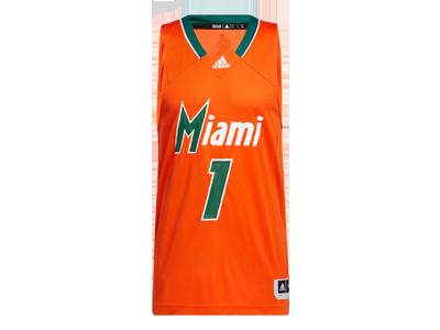 adidas Miami Hurricanes Reverse Retro Jersey