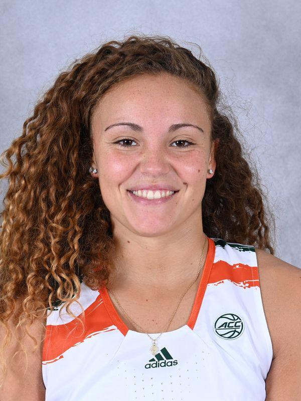 Kenza Salgues - Women's Basketball - University of Miami Athletics