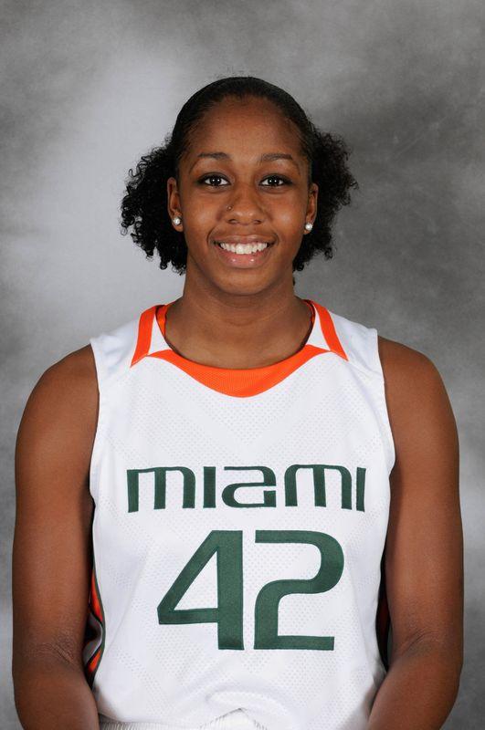 Shenise Johnson - Women's Basketball - University of Miami Athletics