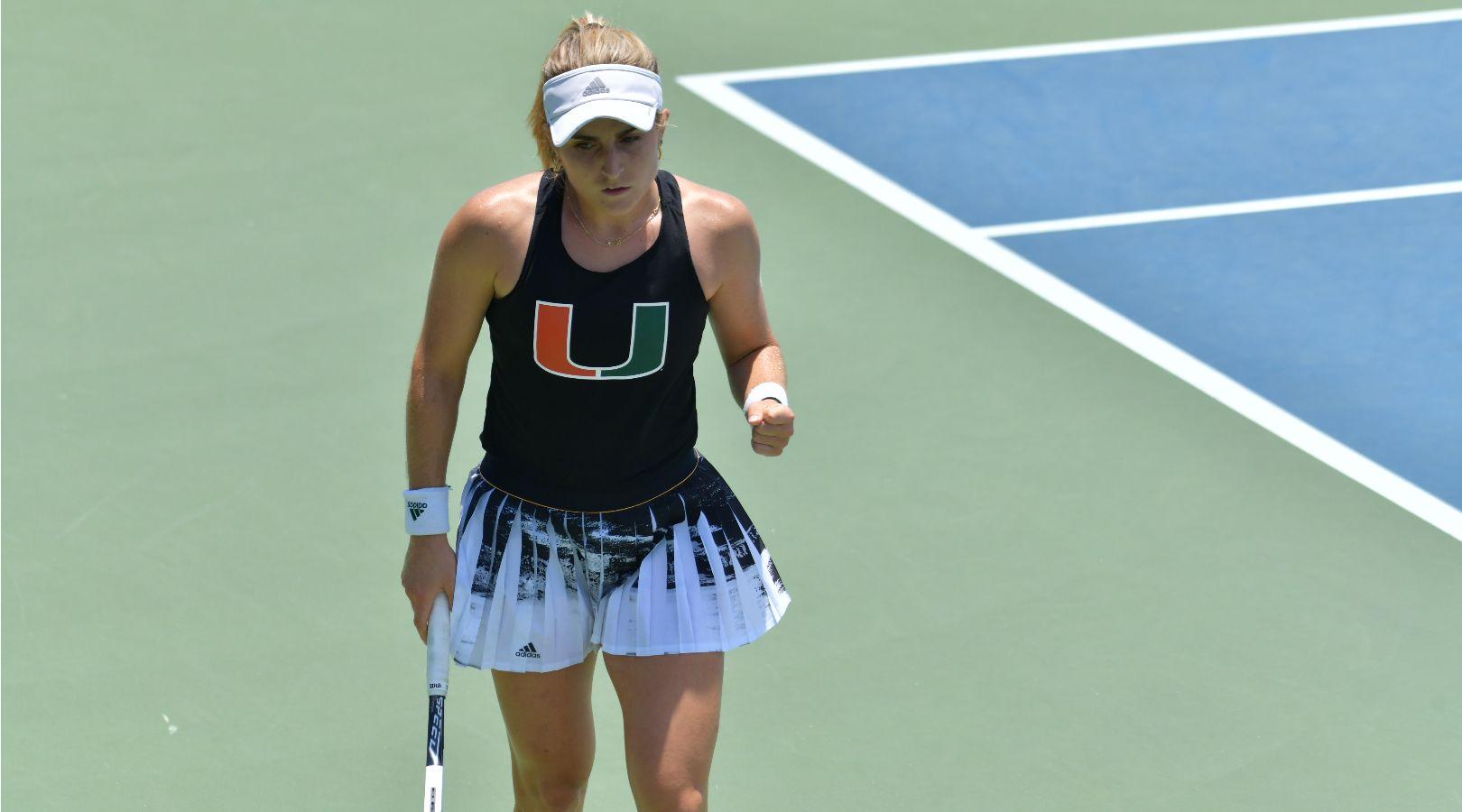 Perez-Somarriba Finishes No. 1 in ITA Singles Rankings