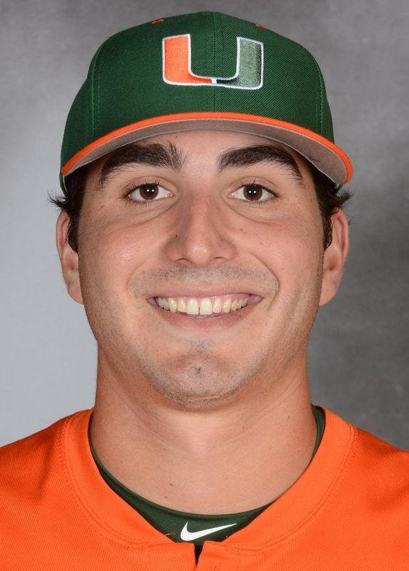 Javi Salas - Baseball - University of Miami Athletics