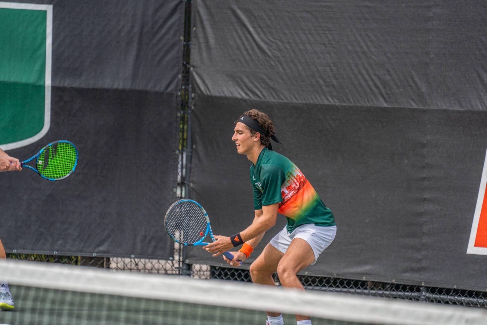 Men's Tennis Falls to Tulane