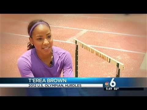 #OlympicCanes: NBC Miami T'erea Brown Feature