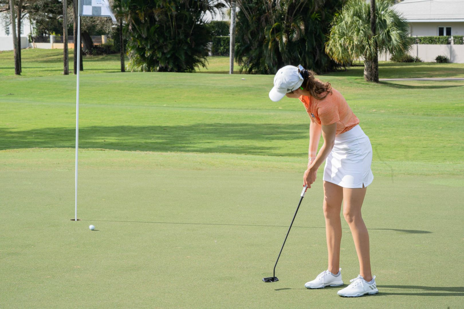 Golf Sits in Third at the Briar's Creek Invitational
