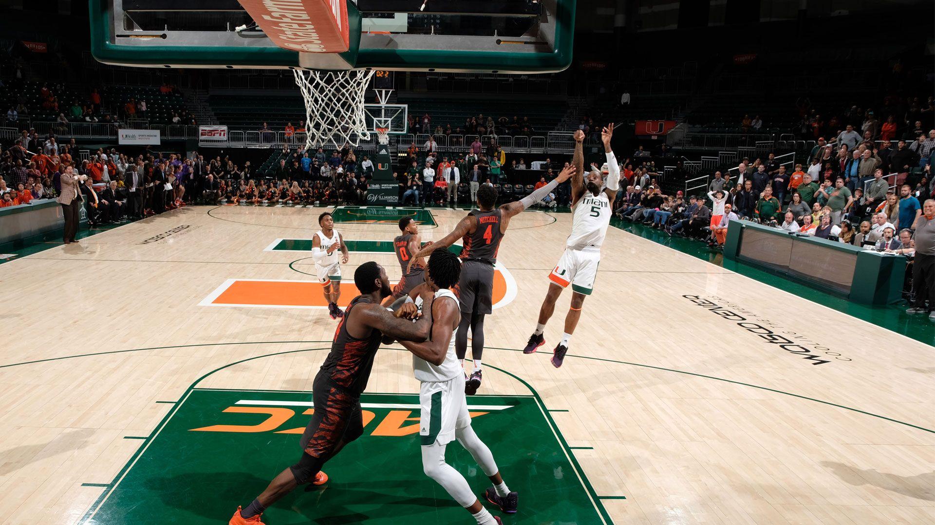 Johnson's Game Winner Propels Miami Past Clemson