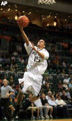 Hurricanes Fall to Wake Forest, 59-58